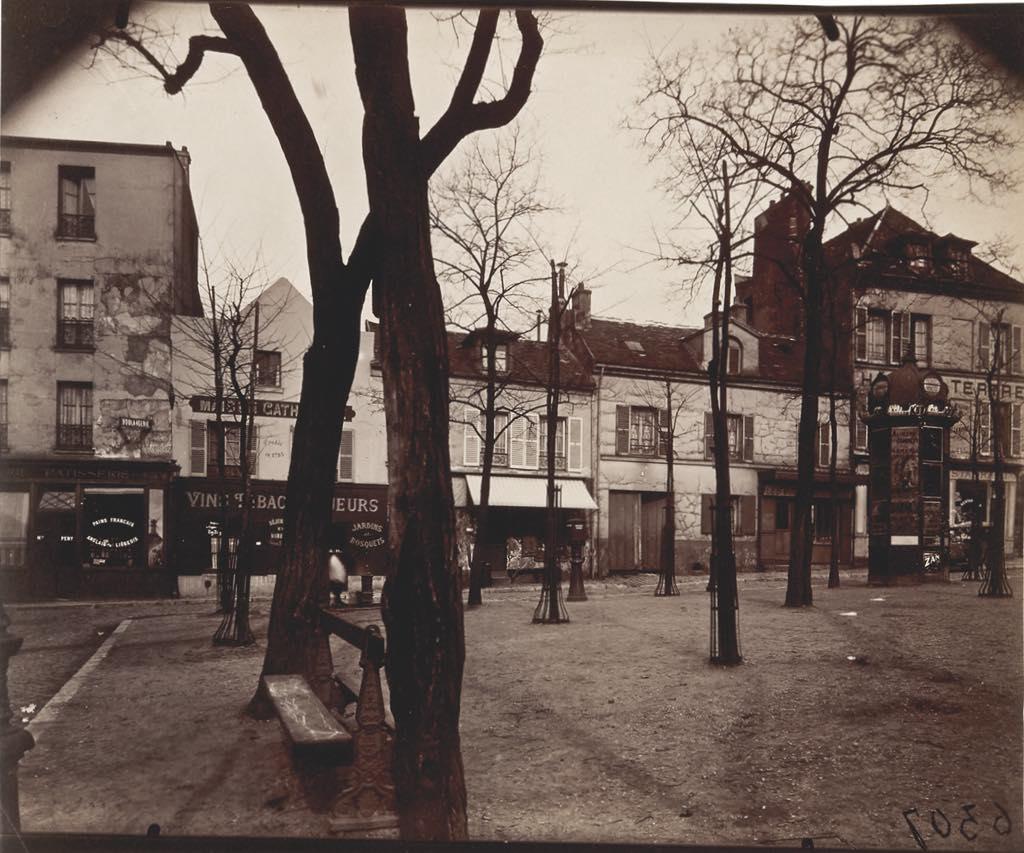 """""""Place du Tertre, Montmartre, XVIIIe"""" (1922). © Paris Musées/Musée Carnavalet–Histoire de Paris"""