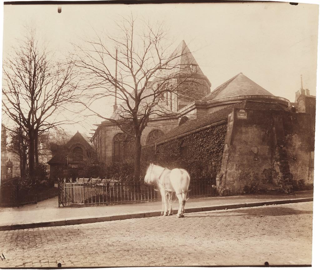 """""""Église Saint-Médard, Ve"""" (1900-01) © Paris Musées/Musée Carnavalet–Histoire de Paris"""