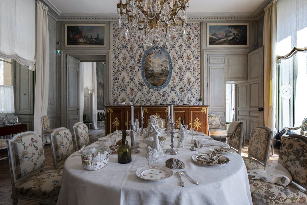 The intendant's dining room. © Didier Plowy/Centre des Monuments Nationaux