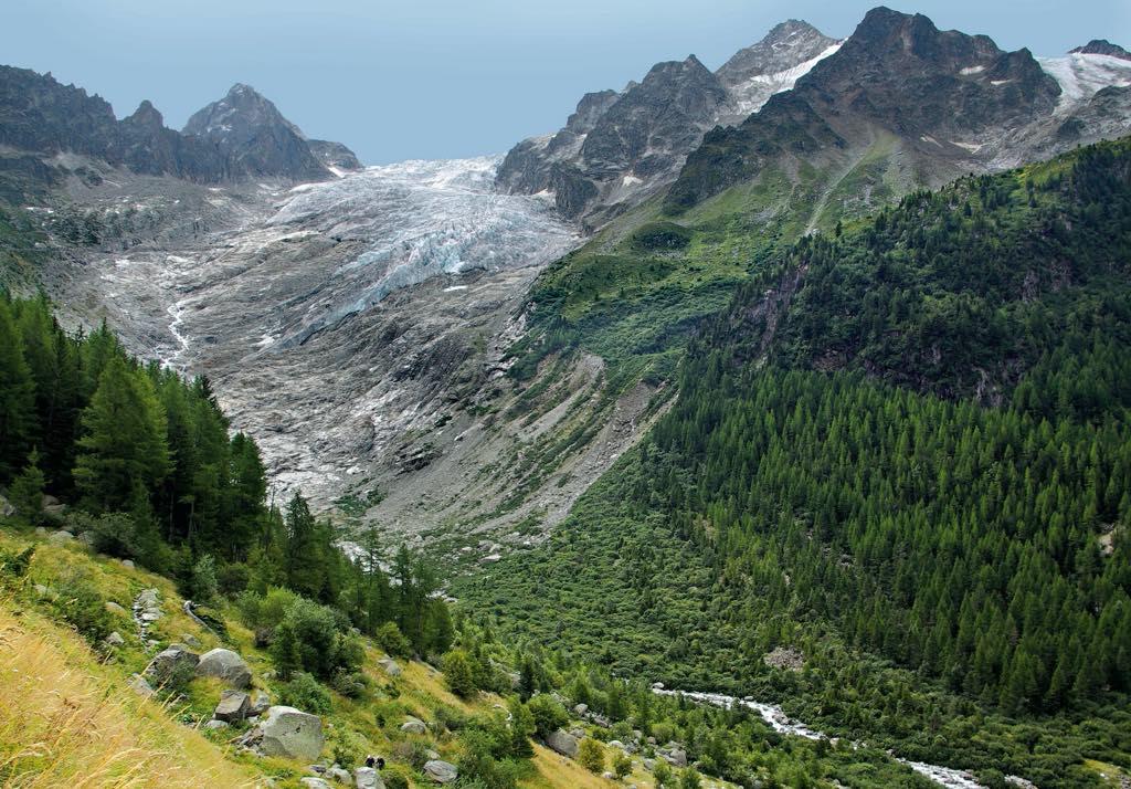 The Trient Glacier in 2010. © Hilaire Dumoulin and Nicolas Crispini