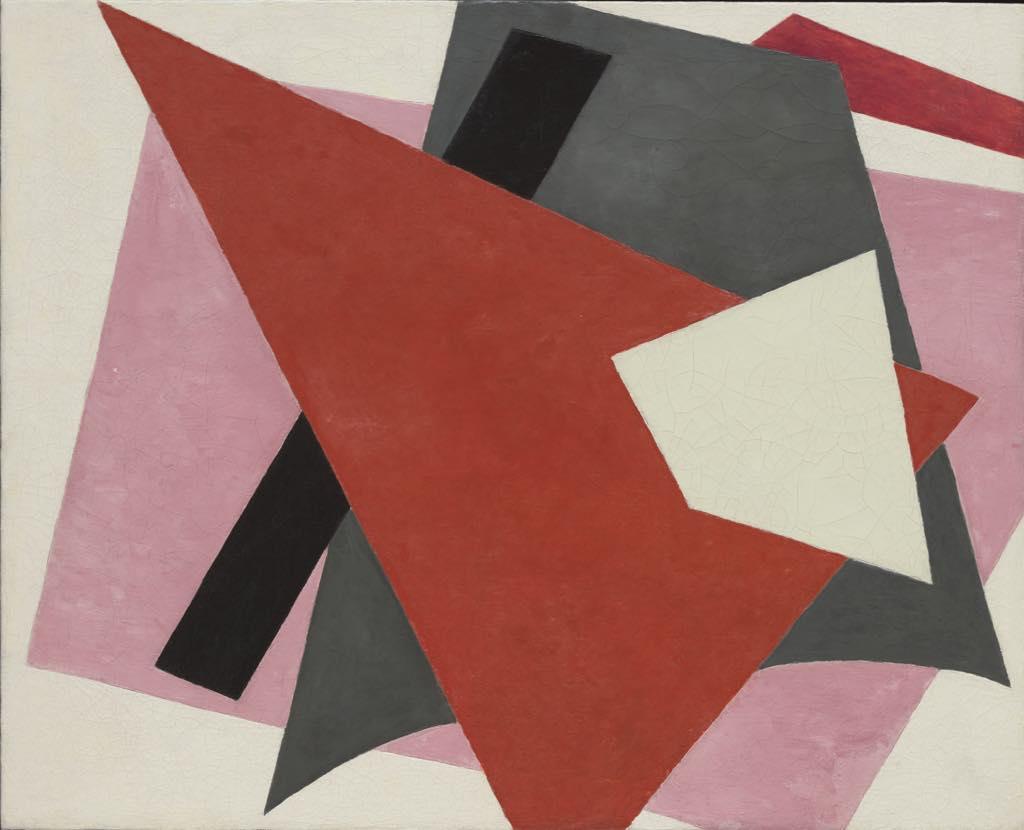 """Painterly Architectonic"" (1917), by Liubov Popova. New York, Museum of Modern Art © 2021. Digital image, The Museum of Modern Art, New York/Scala, Florence"