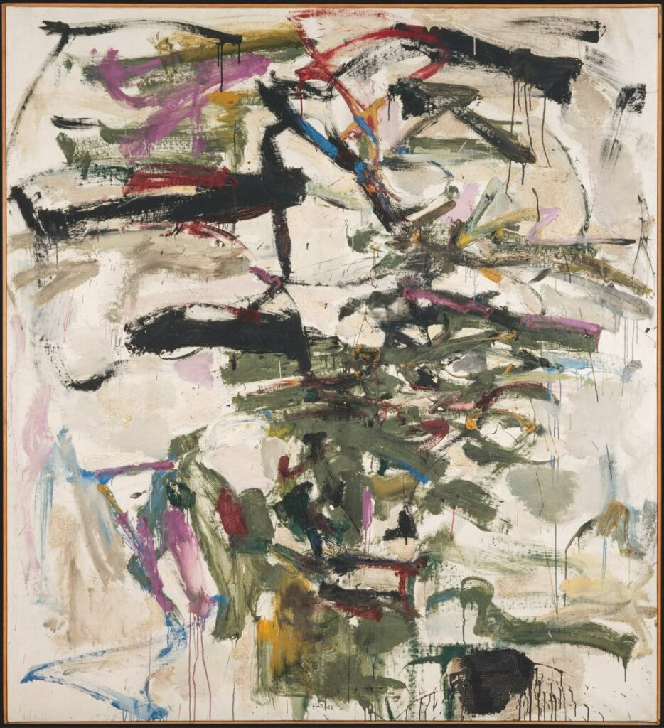 """""""Mephisto"""" (1958), by Joan Mitchell. © Estate of Joan Mitchell. © Centre Pompidou, MNAM-CCI/Jacques Faujour/Dist. RMN-GP"""