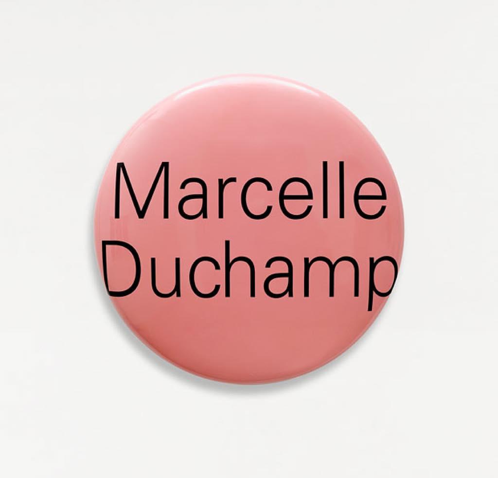 """""""Portrait Grandeur Nature (Marcelle Duchamp)"""" (2007)."""