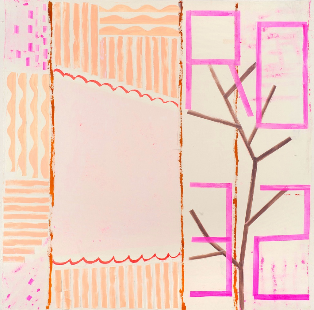 """""""Mapping the Studio (Rose #8)"""" (2020)."""